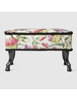 Thistles And Birds Stool by Gucci