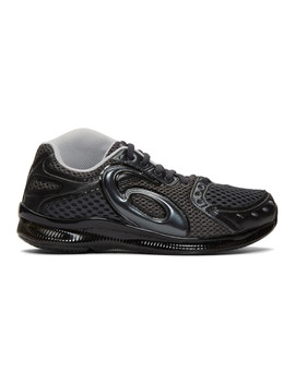 grey-asics-edition-gel-sokat-infinity-sneakers by kiko-kostadinov