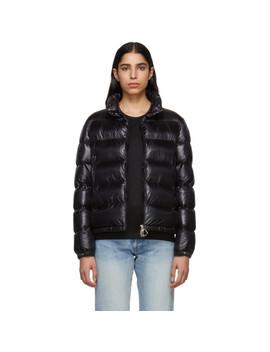 Black Down Copenhagen Jacket by Moncler