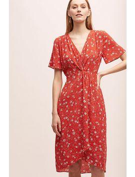 Kachel Floral Print Wrap Dress by Kachel