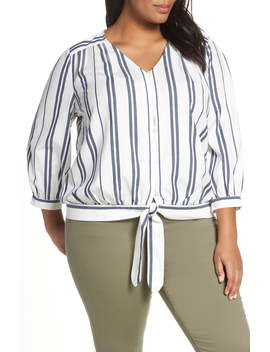 Valiant Stripe Top by Vince Camuto