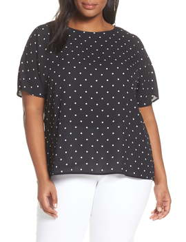 Polka Dot Top by Vince Camuto