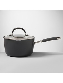 Ceramic Coated Aluminum Covered Saucepan   Made By Design by Made By Design