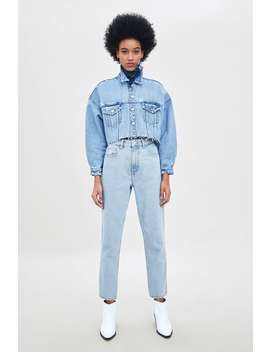 Mom Fit Jeans  Mom Fit Jeans Dame by Zara