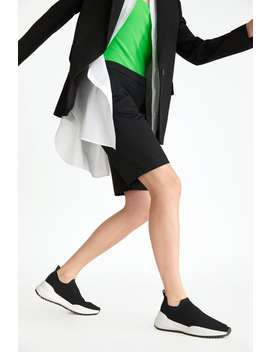 Stretch Fabric Sneakers  Shoeswoman Shoes&Bags by Zara