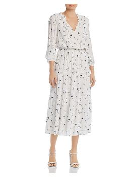 Waneta Floral Print Midi Dress by Joie