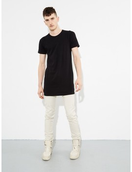 Washed Tee Black by Oak