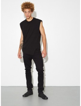 Twisted Muscle Tee   Black by Oak