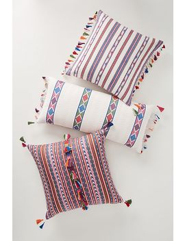 Woven Rosado Pillow by Anthropologie