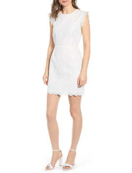 Keren Eyelet Minidress by Cupcakes And Cashmere