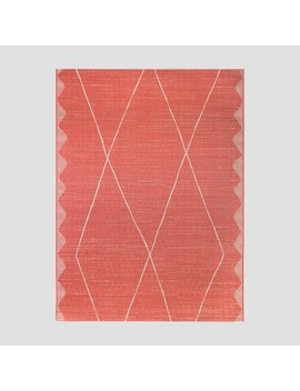 Global Hand Outdoor Rug Pink   Project 62 by Project 62