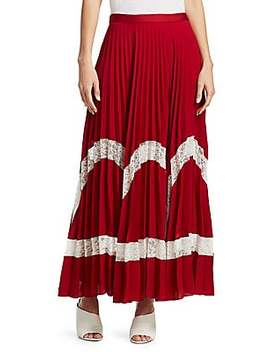 Regina Pleated Maxi Skirt by Elizabeth And James
