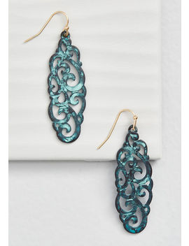 Sweetened Swirls Earrings by Modcloth