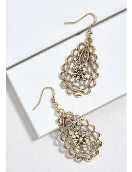 Elegant Accentuation Earrings by Modcloth