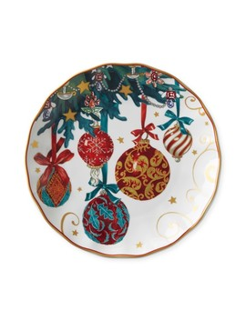 Twas The Night Ornaments Salad Plates by Williams   Sonoma