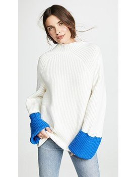 Ribbed Wool Sweater by Tory Sport