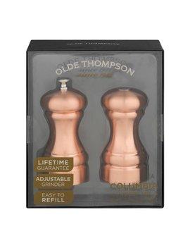 Olde Thompson Columbia Pepper Mill & Salt Shaker Set    2 Ct by Olde Thompson