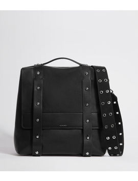 Sid Leather Backpack by Allsaints