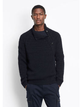 Vme236 Nwt Vince Mock Turtle Neck Men Sweater Size S $425 by Vince