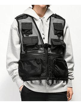 Rothco Recon Black Vest by Rothco