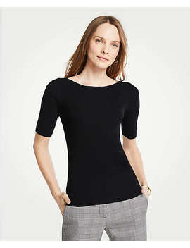Boatneck Perfect Pullover by Ann Taylor