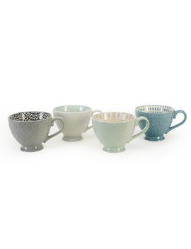Claycomb Pad Print 4 Piece Coffee Mug Set by Wayfair