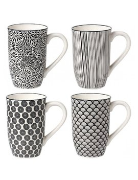 Sai 4 Piece Coffee Mug Set by Wayfair