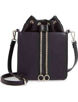 Cube Slackpack Faux Leather Crossbody Bag by Like Dreams