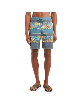 Men's Rainbow Palms Eboard, Up To Size 5 Xl by George