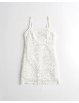 Lace Babydoll Dress by Hollister