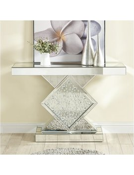 Larock Crystal Console Table by Wayfair