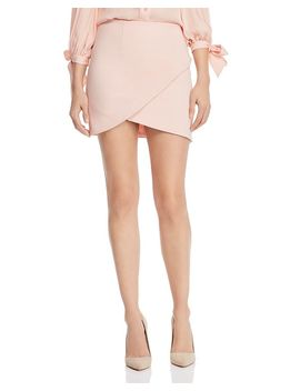 Fidela Crossover Mini Skirt by Alice And Olivia