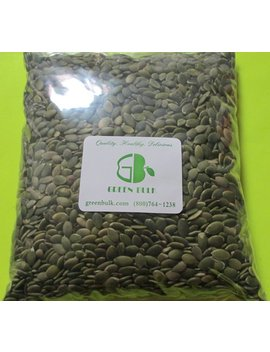 Raw Shelled Pumpkin Seeds Pepitas, 1 Lb by Green Bulk