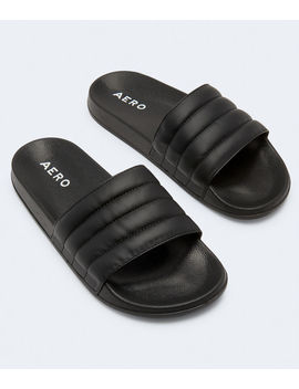 Quilted Slide Sandal*** by Aeropostale