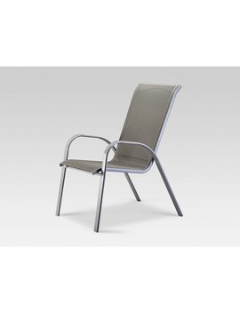 Stack Sling Patio Chair Gray   Threshold by Threshold