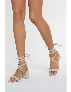 Available In High Tie Wrap And Tie Sandals by Nasty Gal