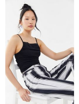 Cassa Nylon Ruched Cropped Cami by Urban Outfitters