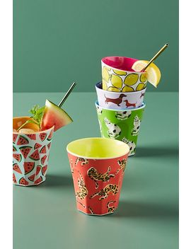Colloquial Melamine Tumbler by 52 Conversation By Anthropologie