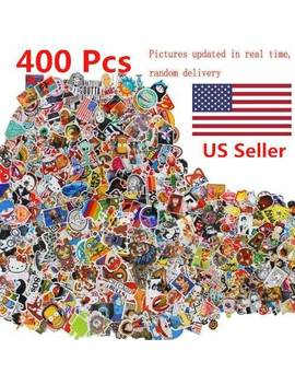 400 Pcs Stickers Skateboard Sticker Graffiti Laptop Car Luggage Decals Mix Lot by Ebay Seller