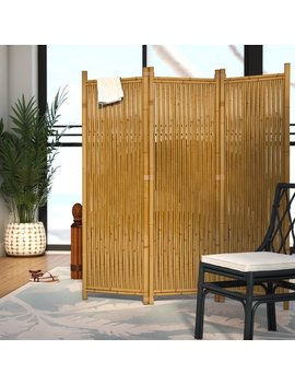 Josephine 3 Panel Room Divider by Wayfair