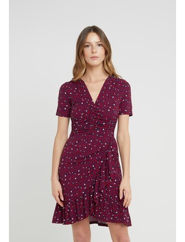 Hearts Ruched   Jersey Dress by Michael Michael Kors