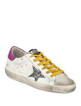 Superstar Mixed Media Sneakers by Golden Goose