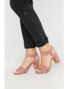 Criss Cross Circle Buckle Sandal by Urban Planet