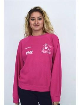 Vintage 90's Adidas Pink Sweatshirt by Adidas