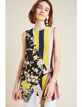 Diane Von Furstenberg Sedona Silk Wrap Top by Diane Von Furstenberg
