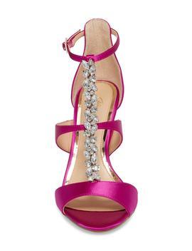 Mica Crystal Embellished Strappy Sandal by Jewel Badgley Mischka