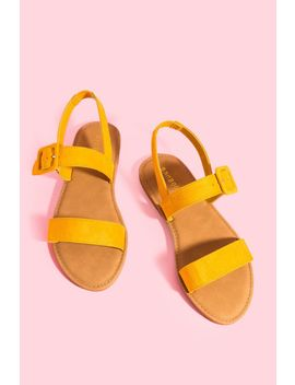 Coastline Buckle Sandal by A'gaci