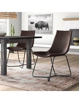 Winschoten Upholstered Dining Chair by Wayfair