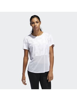 Own The Run Speed Splits Tee by Adidas