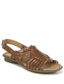 Whistle Leather Woven Huarache Sandals by Naturalizer